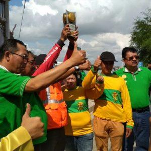 Ini kali ketiga Kota Banjarmasin mendapat penghargaan Piala Adipura.
