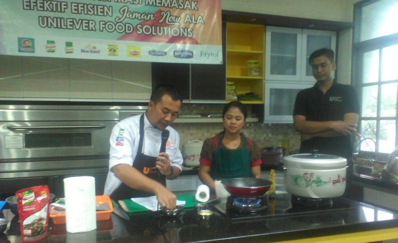 Gandeng Unilever, APJI Selenggarakan  Cooking Class