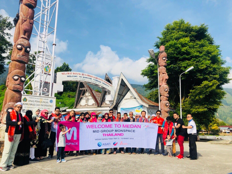 ASATI Boyong Wisatawan Thailand ke Sumut