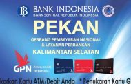 Tukarkan Kartu ATM Anda di Pekan GNP Banjarmsin