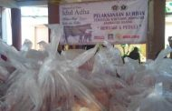 PWI Kalsel Bagikan 600 Kantong Daging Kurban