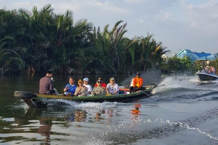 Rute Baru Wisata Susur Sungai Di Sungai Andai Memiliki Tantangan