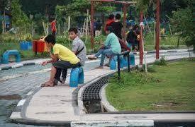 Pemko Banjarmasin Anggarkan Rp 5 M untuk Proyek Air Mancur Menari