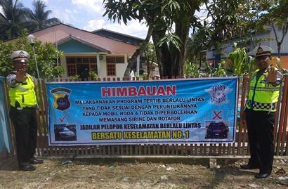 Pawai 1 Muharram, Pengunaan Sirine dan Rotator Dilarang