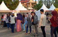 Kupon Habis, Peminat Festival Ice Cream di Banjarbaru Membludak