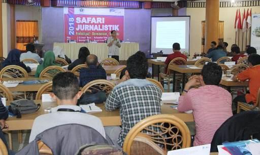 Tingkatkan SDM Wartawan, PWI Gelar Safari Jurnalistik