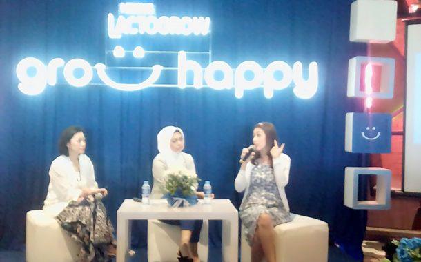 Nestle Lactogrow Berbagi Tips Pola Asuh Grow Happy kepada Orang Tua