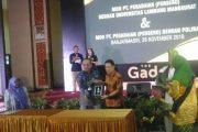 The Gade Pegadaian Goes To Campus Berikan Beasiswa Bagi Mahasiswa
