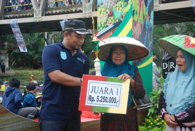 FPT Lok Baintan, Perkenalkan Pasar Terapung Alami
