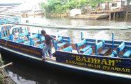 Begini Penampakan Kelotok Wisata Dishub Kota Banjarmasin