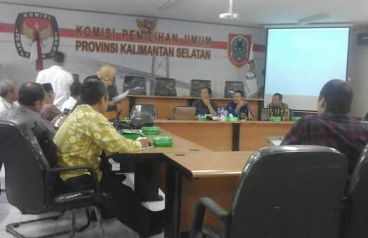 KPU Kalsel Atur Penayangan  Iklan Kampanye Pemilu di Media