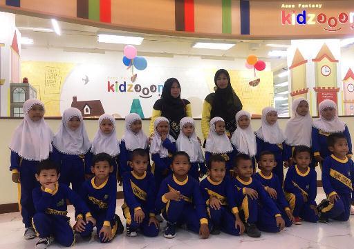 Kembangkan Minat Bakat Anak, R.A Khoiru Ummah Belajar di Kidzoona