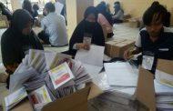 KPU Banjarmasin Mulai Sortir dan Lipat Surat Suara Pemilu