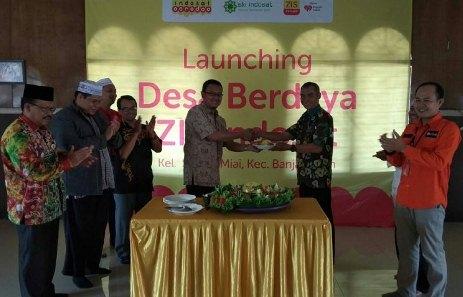 ZIS Indosat dan Rumah Zakat Launching Desa Berdaya