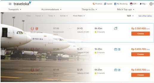 Harga Tiket  Pesawat  Masih Meroket
