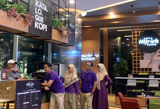 Lebih Dekat dengan Nasabah, Bank Muamalat Luncurkan Hijrah Coffe