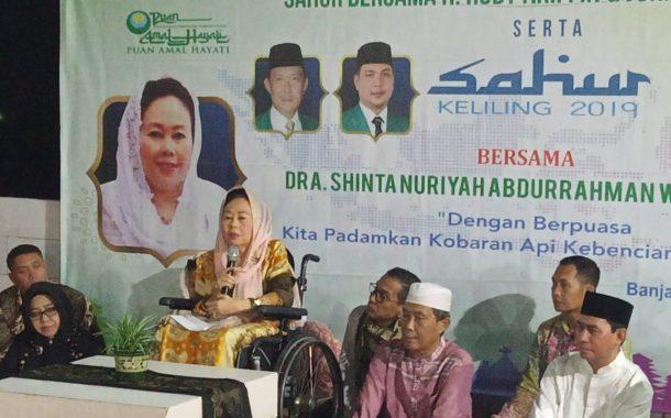 Nuriyah Wahid Ajak Rajut Kembali Rasa Kebangsaan