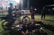 Sinergisitas TNI Polri, Hibur Rakyat dengan Atraksi Pencak silat