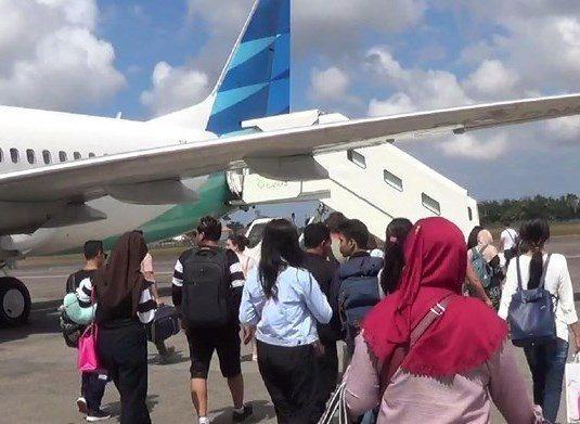 Selama Harganas Garuda Tambah Frekuensi Penerbangan