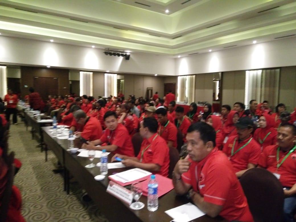 PDI Perjuangan HSS Pilih Kembali Syarifudin Jadi Ketua