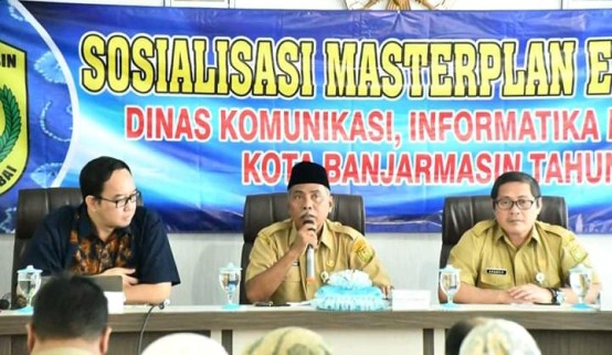Sekda Buka Sosialisasi Masterplan E-Government