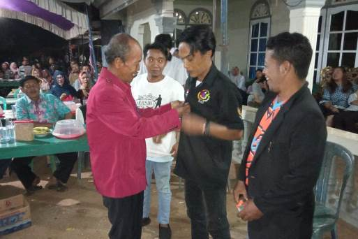 Pendukung Jokowi Tanah Laut Gelar Syukuran