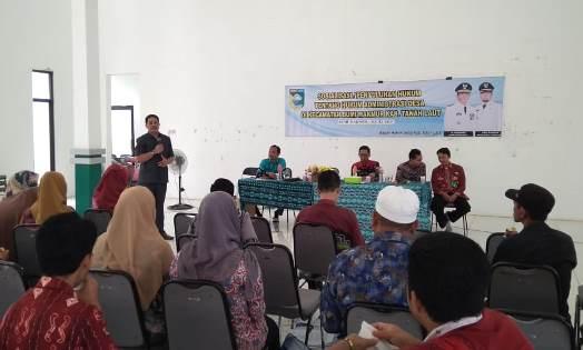 Pemkab Tala Lakukan Penyuluhan Tentang Administrasi Desa