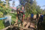 Bantu Kesehatan Warga Kuin Kacil, Kodim 1007 Sosialisasikan Germas Hingga Bantu Lansia