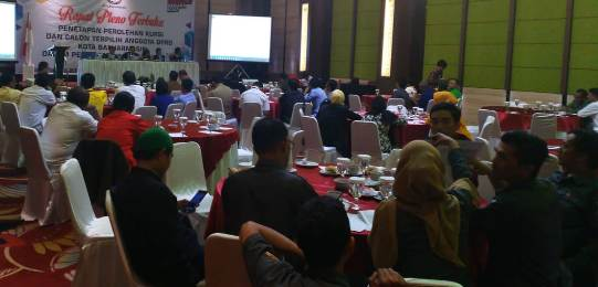 Penetapan 45 Anggota DPRD Kota Banjarmasin Terpilih, PAN Borong 9 Kursi
