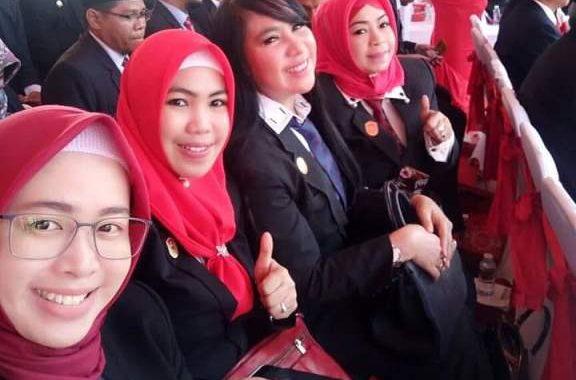 11 Srikandi Bakal Huni  DPRD Kota Banjarmasin