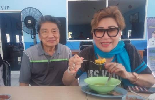 Sayur Bening  Jadi Pengobat Rindu Shifu Hellen dan Suami