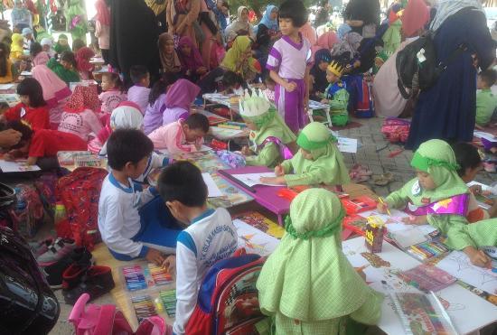 Ratusan Bocah di Banjarmasin Ramaikan Festival Budaya Islam