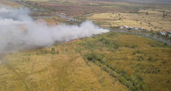 Pantau di Udara, Karhutla Sehari 20 Sampai 50 Hektar