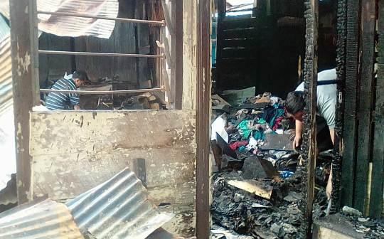 19 Bangunan Hangus Akibat Kebakaran di AKB