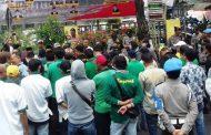 Sampaikan 4 Hal, Sejumlah LSM Demo ke DPRD Banjarmasin