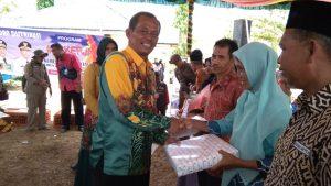 Pemkab Tala Bagikan Ratusan Rumah Swadaya