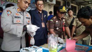 Operasi Antik Polres Tala Ungkap 9 Kasus Narkoba