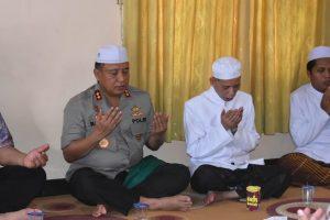 Kapolda Kalsel Bareng Santri Doa Bersama
