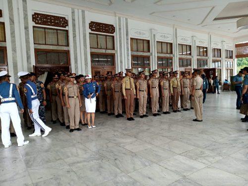 Taruna Akademi AL Sambut Kalsel sebagai penyangga IKN