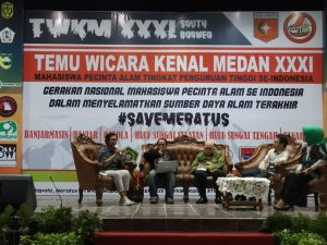 Mapala se-Indonesia Tolak Eksploitasi Meratus
