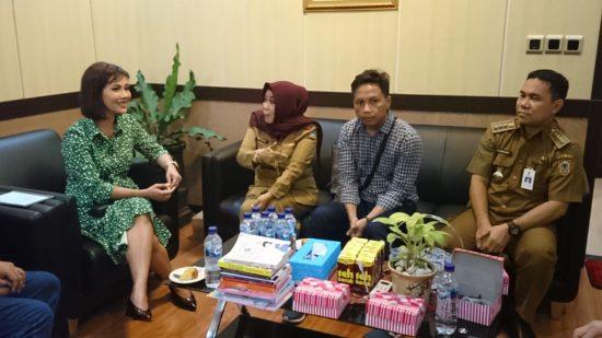 Nadia Mulya Sapa Pencinta Buku di Banjarmasin