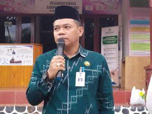 Camat Kuranji Lepas Peserta Khataman Massal Tingkat Kabupaten