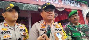 Kapolres Tala Tinjau Operasi Lilin Intan di Wilkumnya