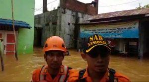 4 jam Hujan Lebat, Cempaka Dilanda Banjir