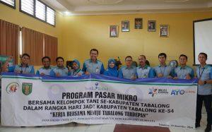 Bank Kalsel Gelar Pasar Mikro Bersma Gapoktan Tanjung