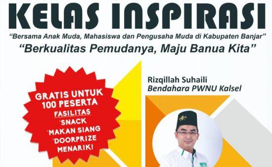 Ikuti Kelas Inspiratif, Pemuda Berkualitas Banua Maju