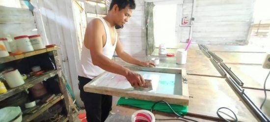 Lewat Bisnis Sablon, Gahipbta Tala Promosi Pariwisata