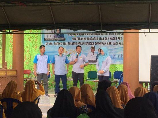 Meriahkan HUT HST, Bank Kalsel Gelar Pasar Mikro