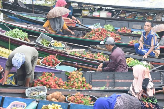 Pasar Terapung Kuin Alalak Bangkit Kembali