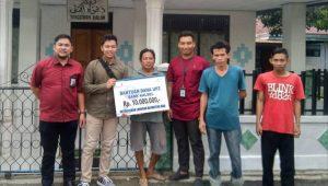 Bank Kalsel Cabang Kandangan Bantu Rehab Rumah Ibadah